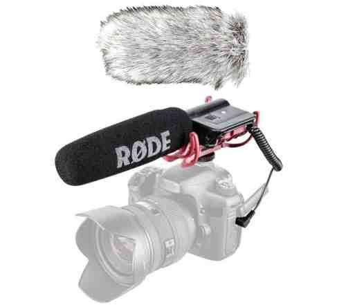 Rode Videomic Rycote kaamera mikrofoni rent