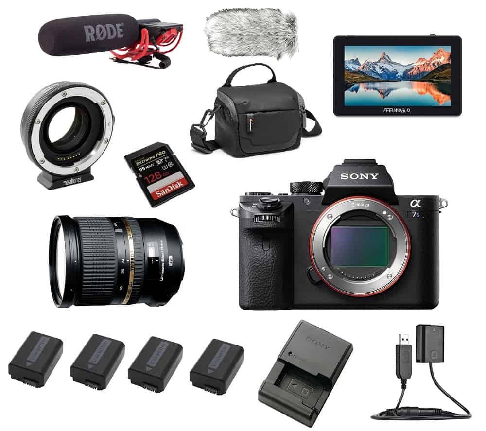 Sony A7S2 kaamerakomplekti rent