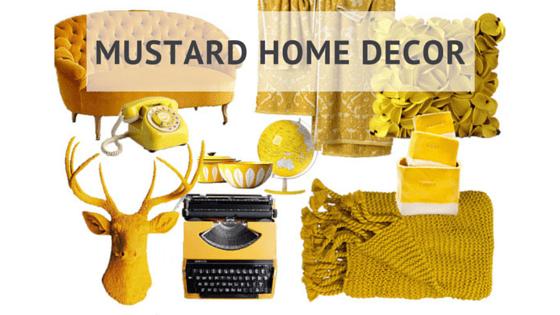 Mustard Home Decor Flüff Design And Decor
