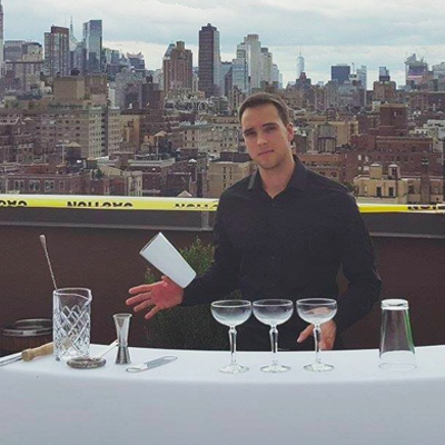 hire flair bartender for event