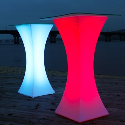 LED Cocktail tables for rent