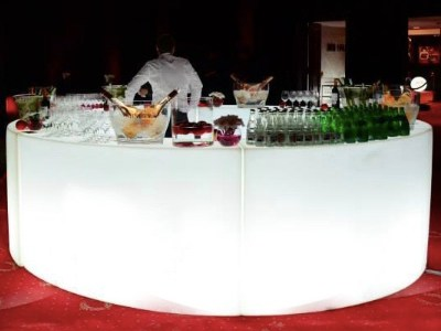 LED Buffet Table for rent