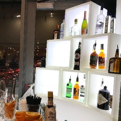 LED display back bar rental