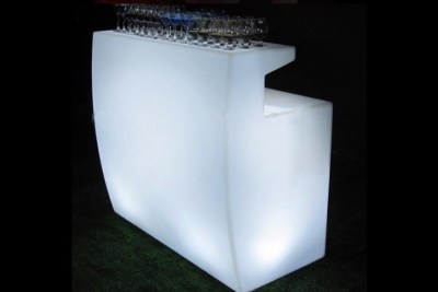 Lighted bar rental