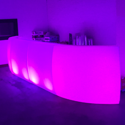 led pourable bar rental