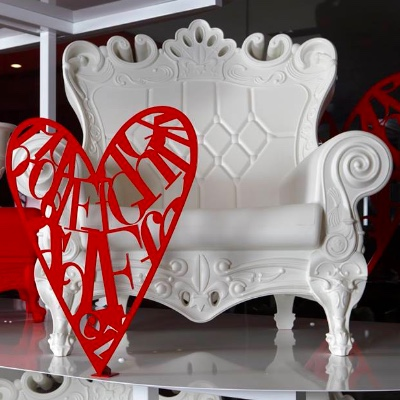 White Throne Chair rental long island