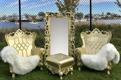 gold throne rentals near me