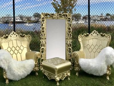 gold throne rentals near me