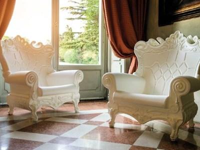 white throne chair rental