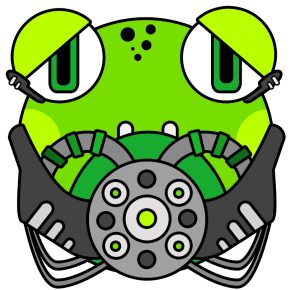 Bio Frog Illustration