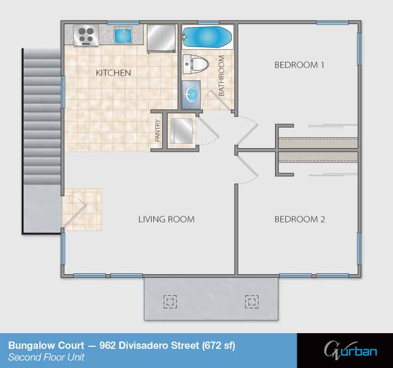 962 Divisadero Second Floor