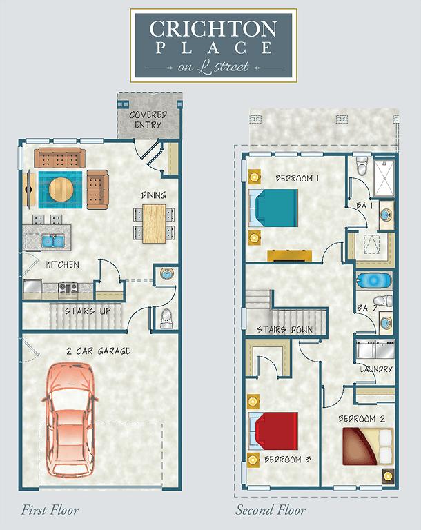 Crichton Place Floor Plan