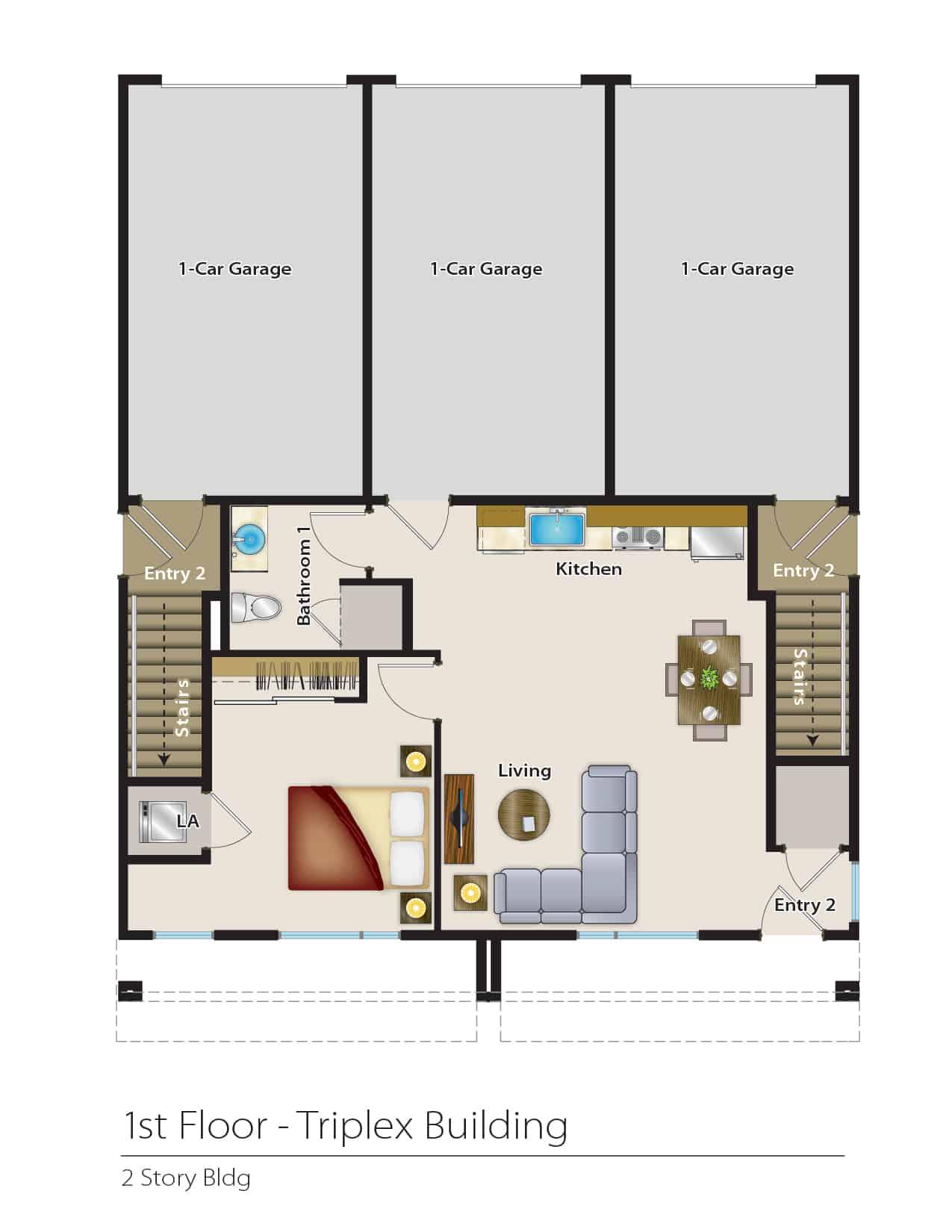 1612 Fulton - Plan A