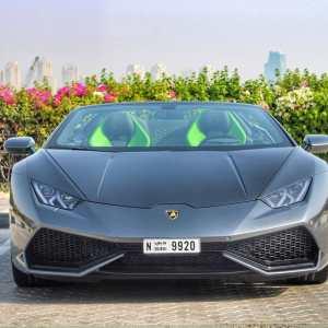 Lamborghini Huracán Spyder Rent Dubai,Hire Lamborghini huracan spyder airport