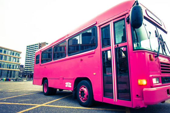 Pink Party Bus Rentals Minneapolis MN  RentMyPartyBus Inc