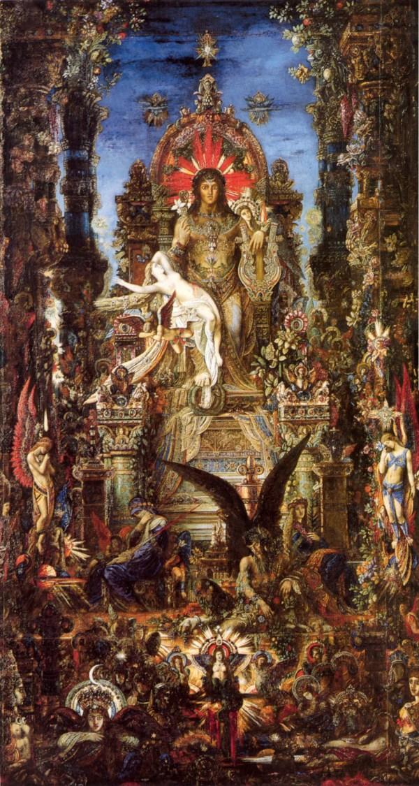 Jupiter and Sem Ele by Gustave Moreau