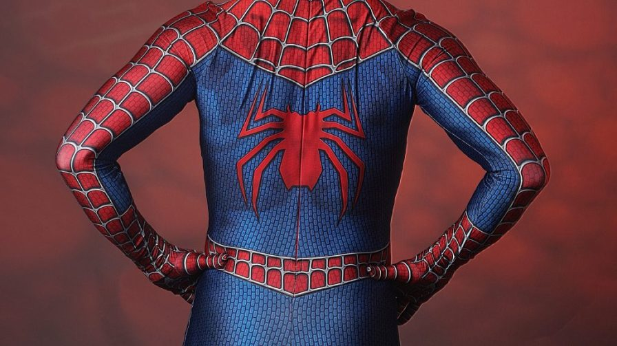 Spiderman from behind