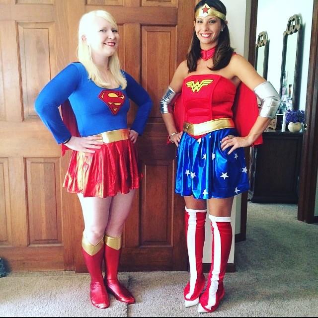 super woman and wonder woman