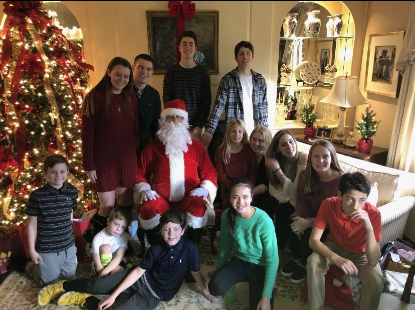Santa Visit in westfield,nj