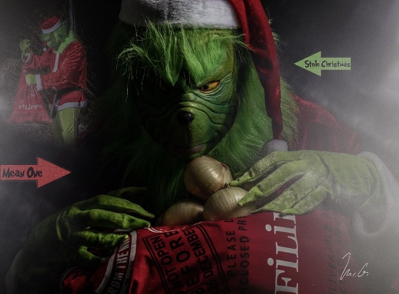 Grinch steals all of Christmas