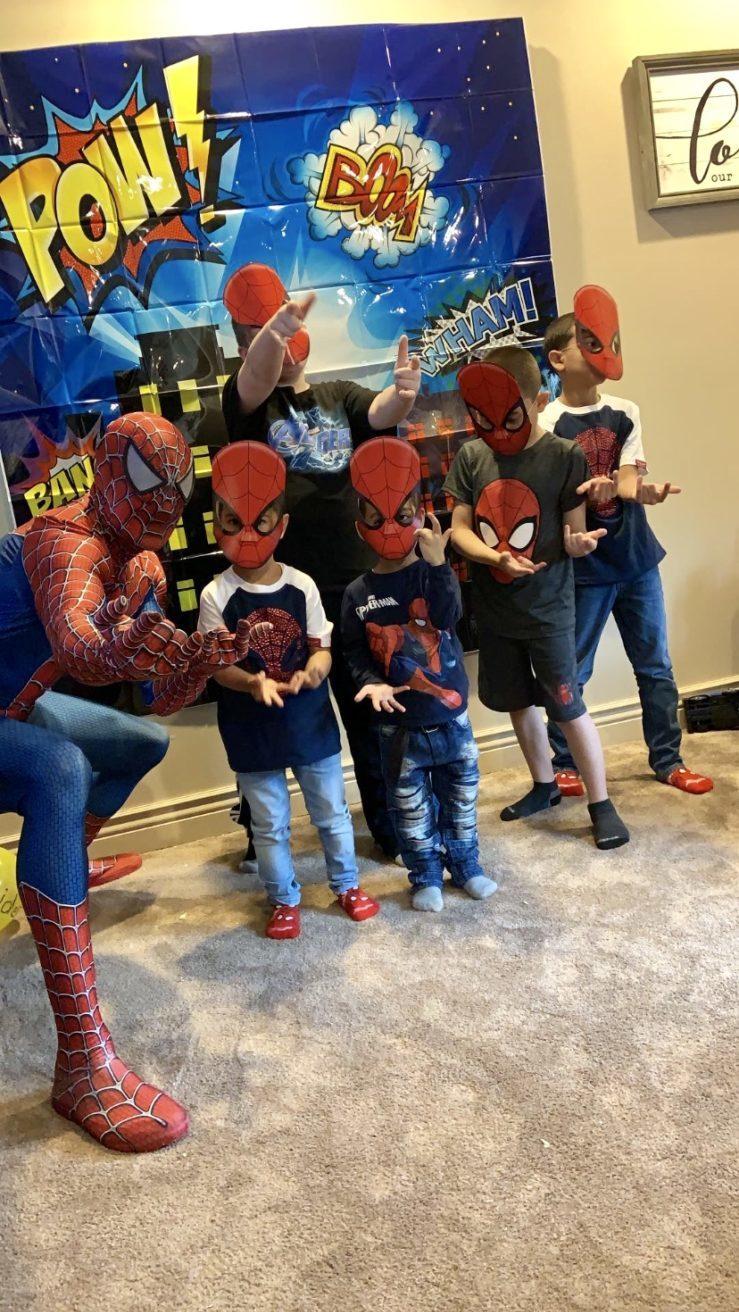 Spider man birthday