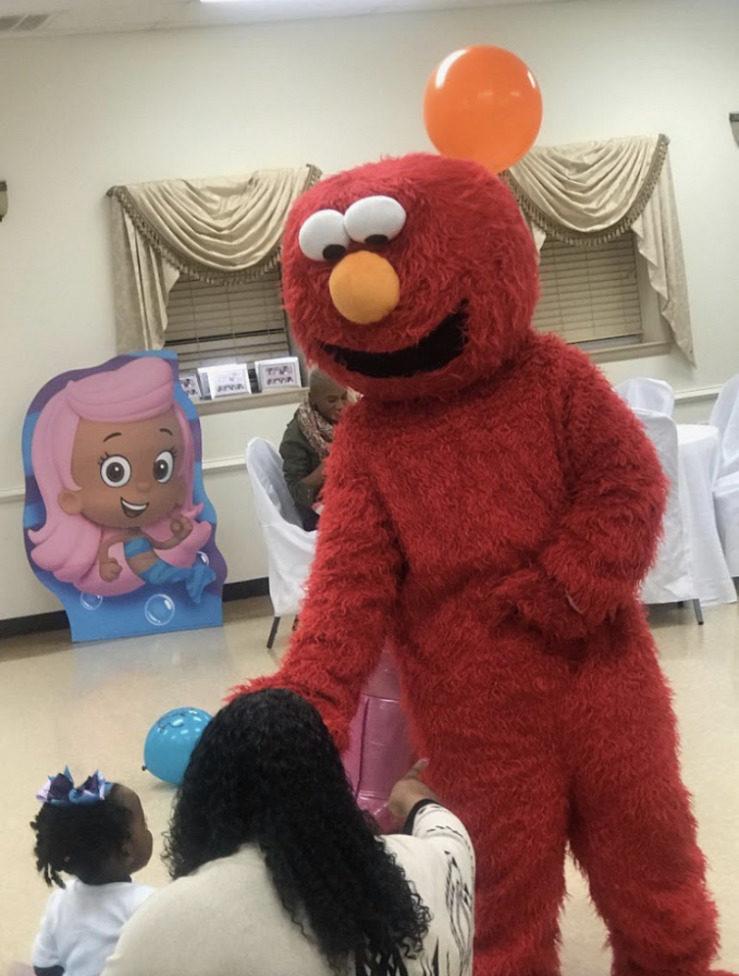 Elmoat birthday party