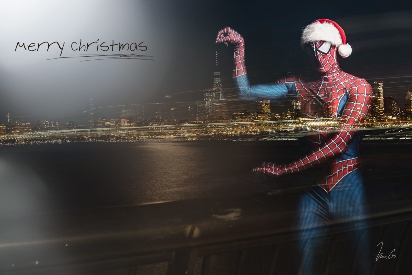 spider Man comes to New York City