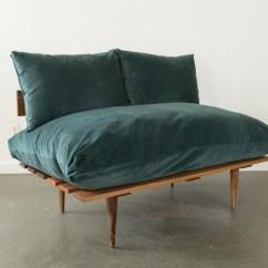 Oversized Leather Chair Ergonomic Gaming With Footrest Vita Sofa | Peacock Blue Velvet Patina