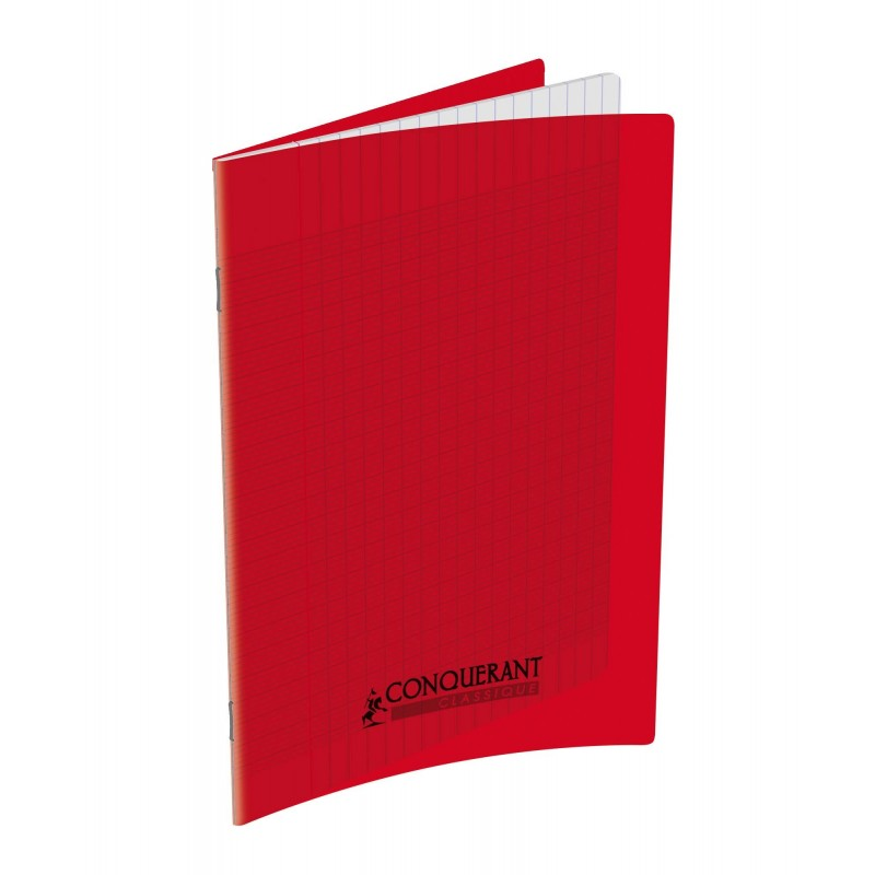 cahier polypro 17x22 pp rouge 90g 96p seyes
