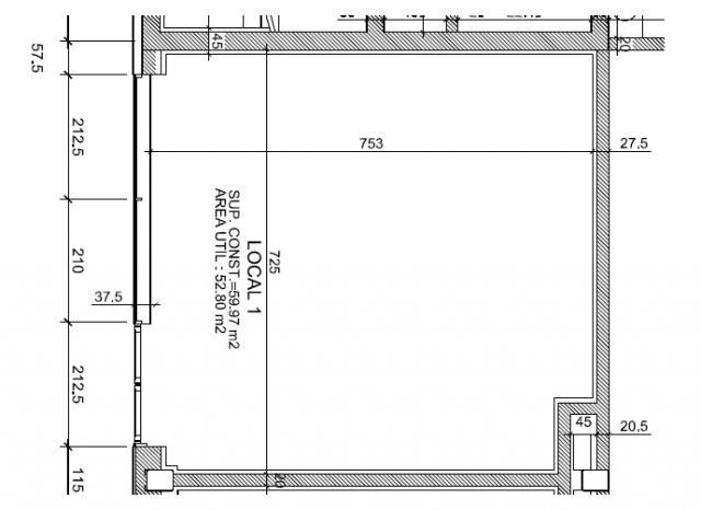 Planos De Locales Comerciales Interesting Plano Floor