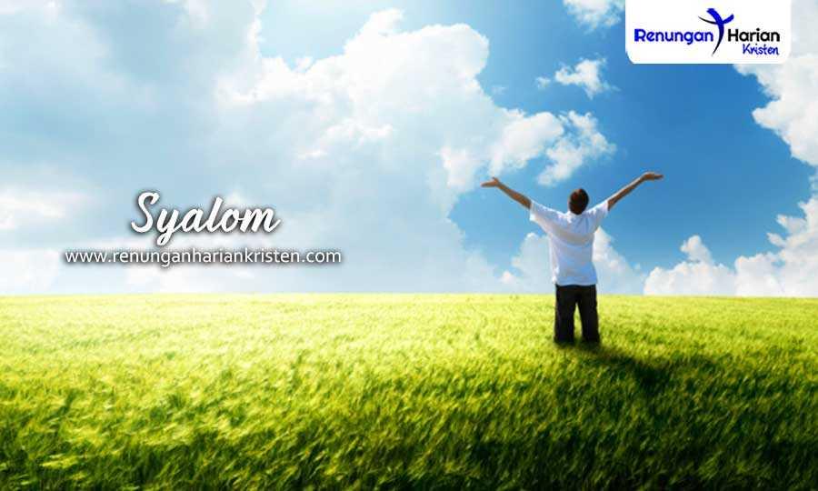 Renungan Harian Remaja 1 Korintus 1:1-3 | Syalom