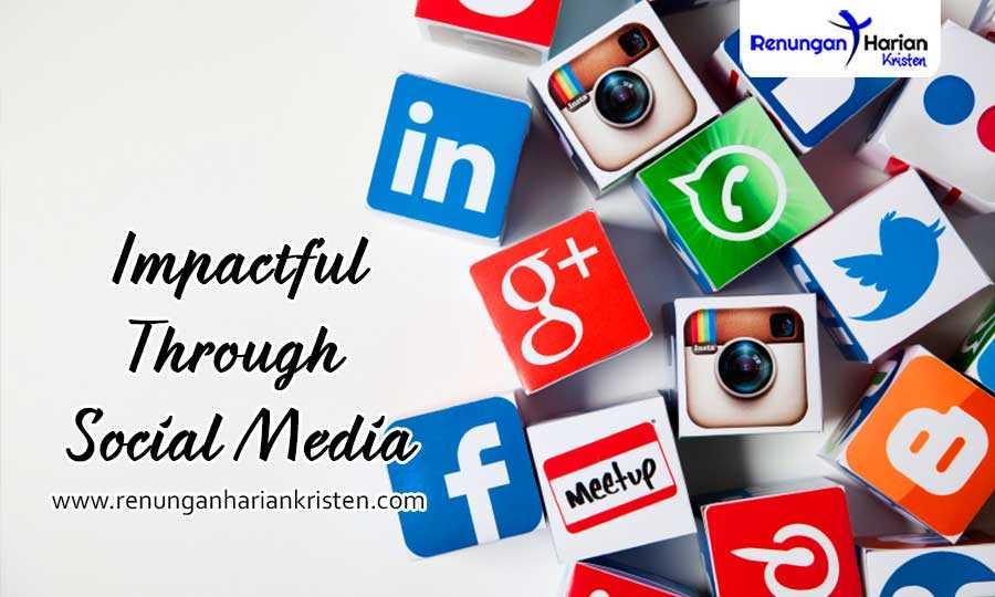 Khotbah Kristen Kolose 4: 2-6   Impactful Through Social Media