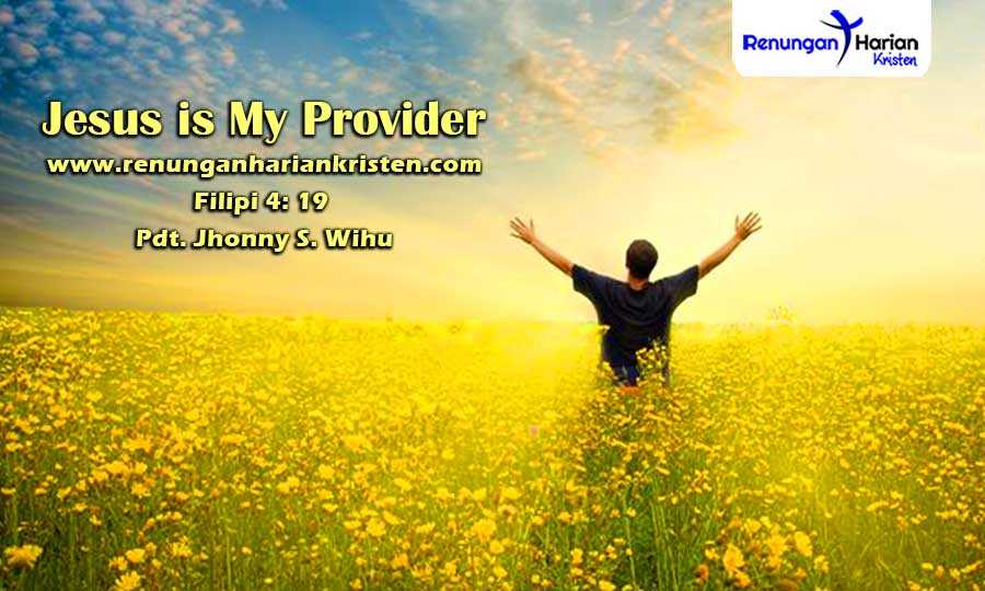 Khotbah-Kristen-Filipi-4-19-Jesus-is-My-Provider
