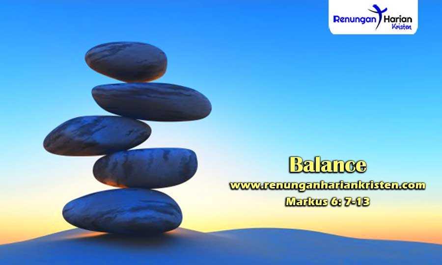 Renungan-Harian-Remaja-Markus-6-7-13-Balance