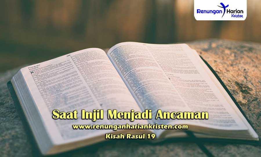Renungan-Harian-Kisah-Rasul-19-Saat-Injil-Menjadi-Ancaman