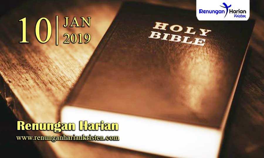 Renungan-Harian-10-Januari-2019