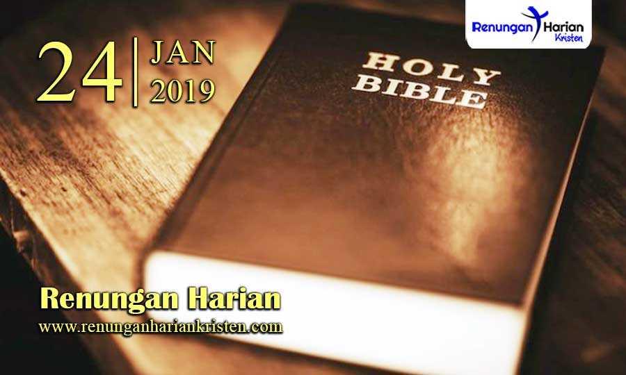 Renungan-Harian-24-Januari-2019