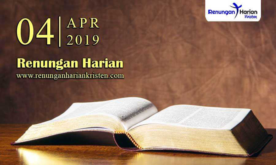 Renungan-Harian-4-April-2019