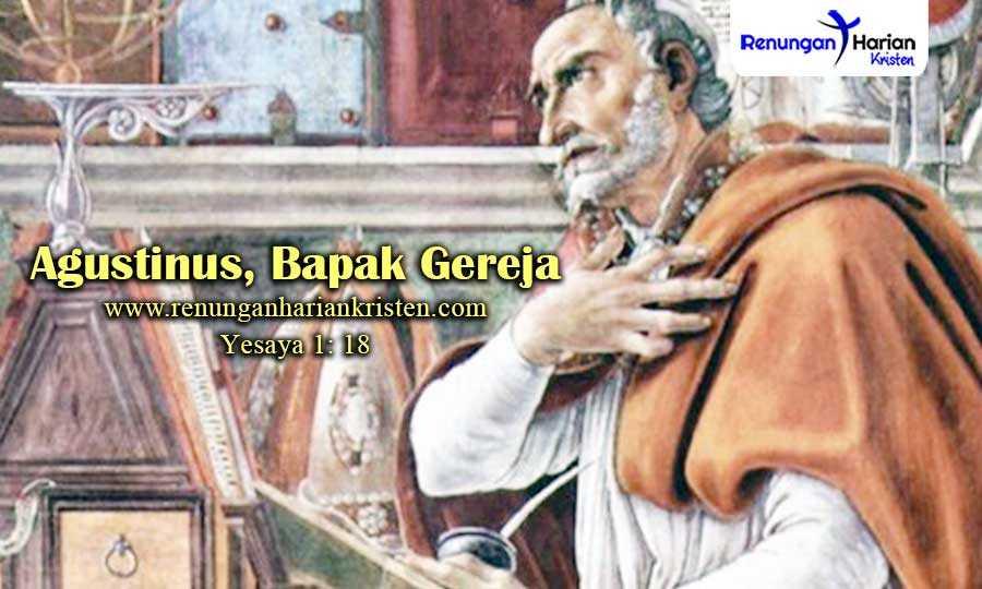 Renungan-Sekolah-Minggu-Yesaya-1-18-Agustinus-Bapak-Gereja