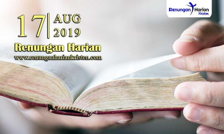 Renungan-Harian-17-Agustus-2019