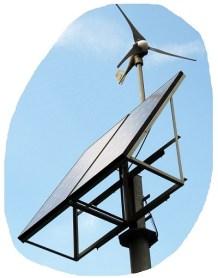 ReNuTec Solutions Solar Wind Small Turbine