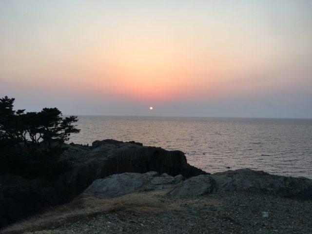日御碕の夕暮れ