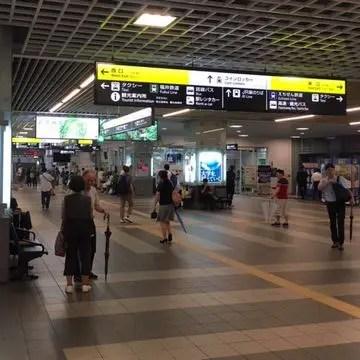 福井駅構内