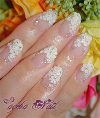 10+ Stylish Nail Art Themes for Wedding Day 2016 2017 ...