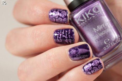 gel purple nail designs for summer  reny styles
