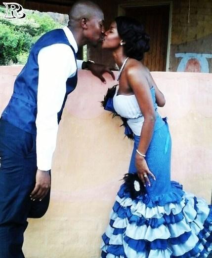 Cinderella Shweshwe Dress: Best Evening Shweshwe Dresses 2019