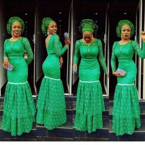 Aso-Ebi Styles In Nigeria Fashion 2019