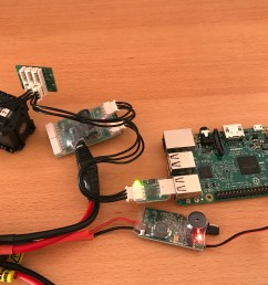 look at this slightly more zoomed in picture for the polarity raspberry pi ubec connection and click on it for full zoom  [ 4032 x 3024 Pixel ]