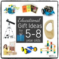 Educational Gift Ideas for 5- 8 year olds