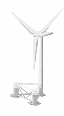 3 D Interactive Windfloat – NER300 first call